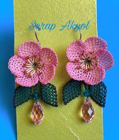 Needlework, Elsa, Crochet Earrings, Pattern, Bb, Jewelry, Strawberry Fruit, Ear Rings, Needle Lace