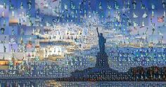 Incredible Photo Mosaics New York City, USA
