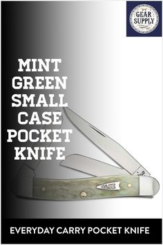 Looking for a mint green small Case pocket knife for your urban everyday carry gear? Save money on everyday carry premium pocket knives. Explore top-rated budget-friendly compact lightweight utility knives and other essential EDC gear at affordable prices from Gear Supply Company. #everydaycarry #edcknives #pocketknives #urbaneverydaycarry Urban Carry, Urban Edc, Edc Carry, Carry On, Edc Fixed Blade Knife, What Is Edc, Prepper Supplies, Everyday Carry Items, Urban Bags