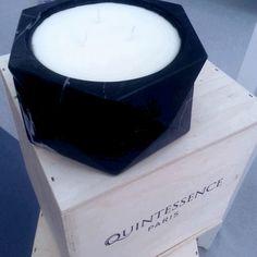 Quintessence Paris Luxury Candles at LDF14