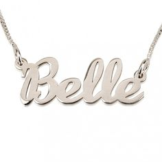 Hand Name Necklace