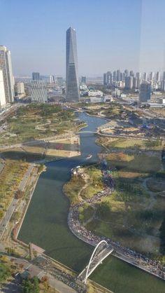 Central park, Songdo, Incheon, Korea