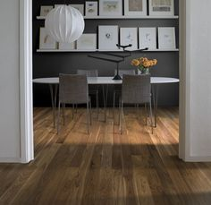 Wood flooring - whether it's solid oak, bamboo or engineered wood - is a warm, classic and natural choice underfoot in the home. There's a wooden flooring option designed for your decorating style, and we've picked a selection of our favourites. Walnut Floors, Engineered Wood Floors, Hardwood Floors, Kahrs Flooring, Flooring Options, Wooden Flooring, Solid Oak, Ideal Home, Decor Styles