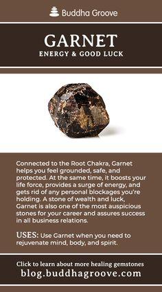 Garnet - Energy and Good Luck