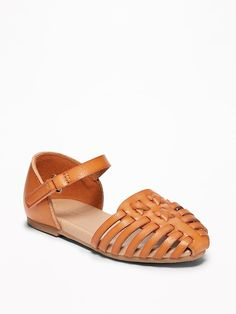 9d82ab63704c Pointy-Toe Huarache Flats for Toddler Girls at Old Navy Stylish Toddler  Girl