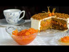Κέικ καρότου, αφράτο και πεντανόστιμο - Carrot cake - YouTube Pudding, Desserts, Recipes, Food, Youtube, Kitchens, Greek, Bakken, Tailgate Desserts