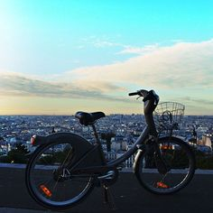 Like in #London, you can #rent #bikes in #Paris as well. #Cycling in Paris…