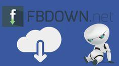 FBDOWN.net, o jeito mais simples e rápido de baixar vídeos compartilhados no Facebook pelo seu computador sem o auxílio de softwares,plugins ou java.