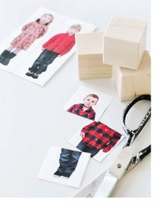 crafts for kids: DIY Photo Blocks || Sweet Paul