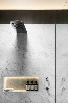 éclairage design pour salle de bain avec Ruban LED intégré