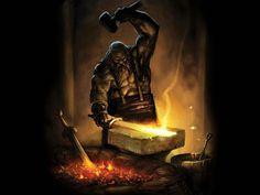 Héfaistós, God of Blacksmithing