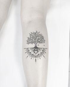 """2,854 Likes, 28 Comments - Carlos Eduardo (@cabelotattoo) on Instagram: """"Árvore da vida Tatuagem elaborada para a amiga Debora Freitas. @cabelotattoo…"""""""