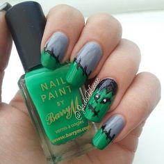 Halloween by jadealeese  #nail #nails #nailart
