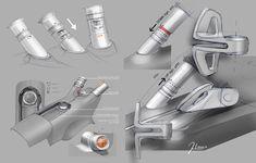 Kia Niro Concept - Interior Design Sketch - Details
