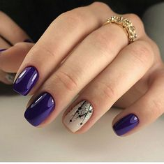 85 Fabulous Spring Square Nail Designs To Make You Shine – Page 37 of 85 spring square acrylic nails designs; Violet Nails, Purple Nails, White Nails, Blue Nail, Square Nail Designs, Best Nail Art Designs, Bright Nail Designs, Nail Art Design Gallery, Plain Nails