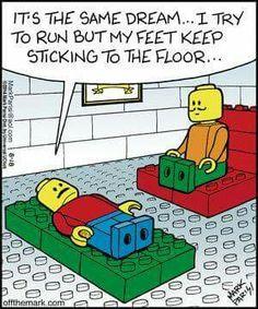 Legos! Haha!