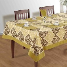"Ethnic Culture "" Cream Arabesque "" | Buy @ inhoma.de #Inhoma #KitchenLinen #Dekoration"