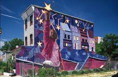 Amazing Britt Miller Mural