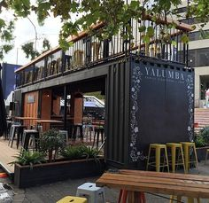 Popup cafe at Perth Cultural Centre