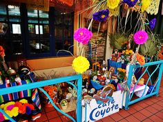 Cafe Coyote #DayoftheDead altar #OldTown #SanDiego