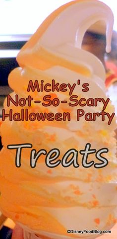 Mickey's Not-So-Scary Halloween Party Treats! #Halloween #Disney