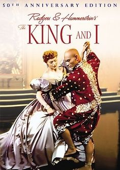 "Anna (Deborah Kerr) and King Mongkut (Yul Brynner) in ""The King and I"". When I was a little girl I fell in love with Yul Brynner after seeing this, and I never fell out of love with him. See Movie, Movie Tv, Epic Movie, Old Movies, Great Movies, Girly Movies, Movies Showing, Movies And Tv Shows, Hollywood"