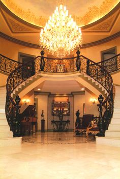 a stunning staircase