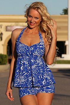 UjENA Bahama Slimming Tankini Plus D278 by GreatOutletStore, $90.95