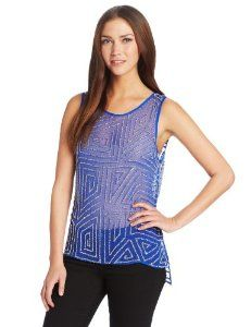 Parker Women's Caroline Sleeveless Beaded Top