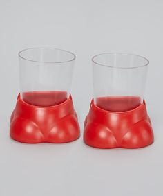 This Red Drink Buddy Spill Stopper - Set of Two by Drink-Buddy is perfect! #zulilyfinds