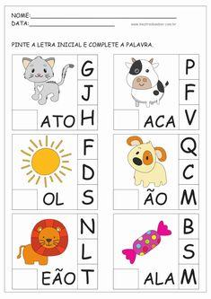 Activities For 5 Year Olds, Infant Activities, Portuguese Lessons, Art For Kids, Homeschool, Kids Rugs, Teaching, Student, Activities For Kindergarten