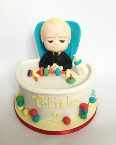 The Boss Baby cake by Olivia's Cake Boutique