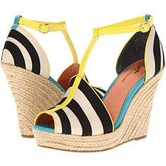 Summer in the city?  You betcha.  Love the fun colors and style. Seychelles Stop Traffic $120