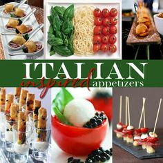 Read this #YummyMonday blog post by Boston Wedding Planner Donna Kim of The Perfect Details featuring some delish Italian inspired appetizers for your wedding!