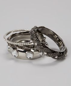 I love these silver rings