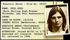 Phil Rudd Tells His Side Of The Murder Story.   My Drum Lessons