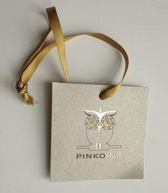 Hang tag Pinko Skin