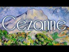 25 cuadros de Paul Cézanne, con música de Debussy HD