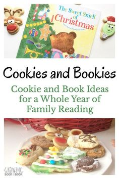 Start a new family reading ritual. Hold a monthly Bookies and Cookies day with the kids. It's cookie baking paired with themed book reading. There is an idea for every month. Toddler Preschool, Toddler Activities, Early Learning, Fun Learning, 1st Grade Crafts, Alphabet, Family Fun Night, All Things Christmas, Christmas Ideas