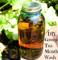 Green Tea the best all Natural Mouthwash ~ NutButterLuver