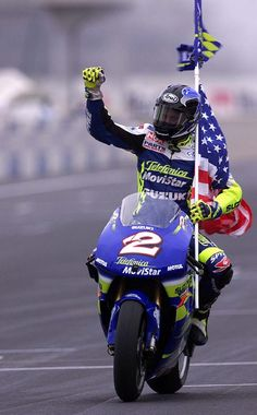 Kenny Roberts Jr. The last time Suzuki won a MotoGP championship in 2000. Since then they have won 2 races. However back for 2014.