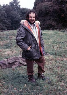 Stanley Kubrick filming Barry Lyndon.