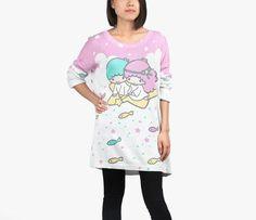 Japan LA x Sanrio Sweater: Little Twin Stars WANT WANT WANT
