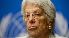 The UN probe on abuses has no political backing, former war crimes prosecutor Carla Del Ponte says