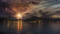 lightning in town by Dan Felix - Photo 217341191 / 500px