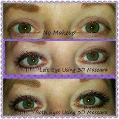 3D fiber lashes. Www.youniqueproducts.com/londa