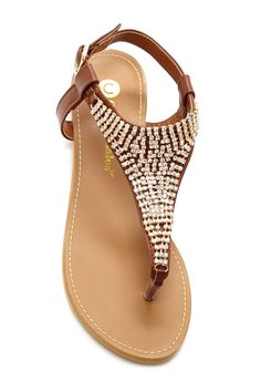 Chase & Chloe - Janelle Sandal at Nordstrom Rack. Free Shipping on orders over $100.