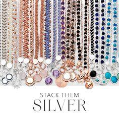 That's right everyone, now there is also a silver fringe. #astleyclarke #silver #jewellery #friendshipbracelet #jewelry