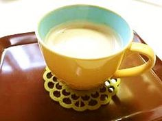 ☸ ☸ How to make a delicious cafe au lait ❤