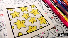 Cute Stars - How to Draw Patterns for your Doodles by Garbi KW